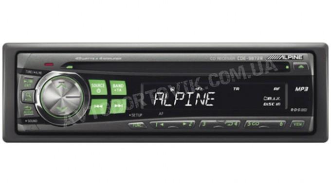 Автомагнитола Alpine CDE-9872RE