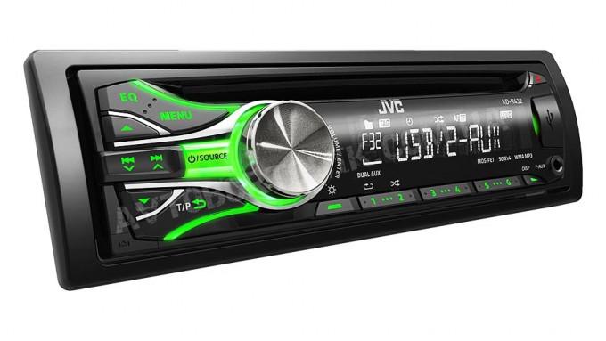 Автомагнитола JVC KD-R432EY