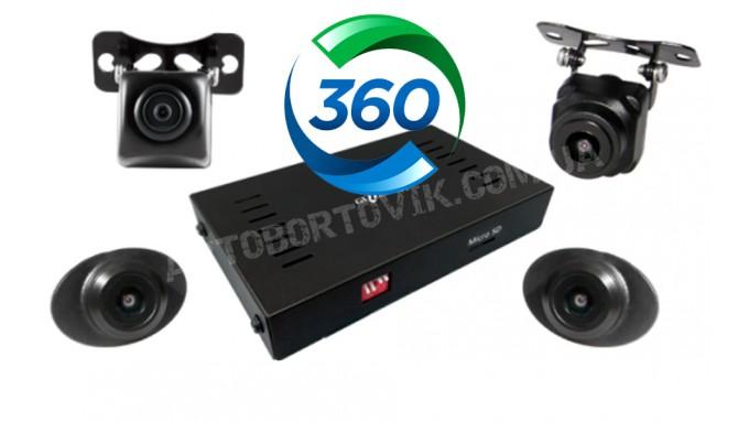 Система кругового обзора Hyundai Santa Fe - Gazer CKR4400-DM