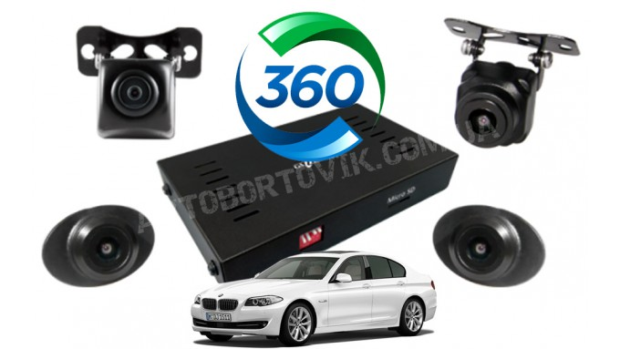 Система кругового обзора BMW 5-series - Gazer CKR4400-F10