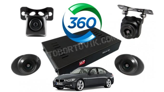 Система кругового обзора BMW 3-series - Gazer CKR4400-F30