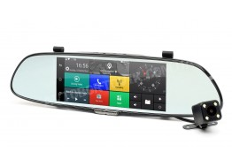 Видеорегистратор зеркало Phisung C08 3G (CM84)