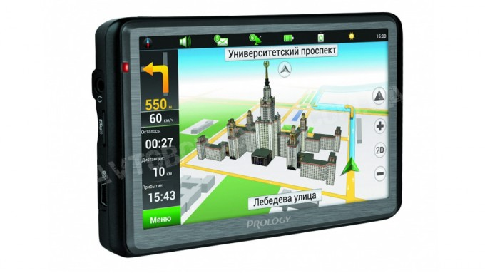 GPS навигатор Prology iMap-5600 Gun Metal