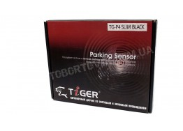 Парктроник Tiger TG-P4 Slim Black