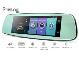 Зеркало-видеорегистратор Phisung E06 4G