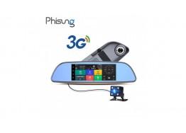 Зеркало-видеорегистратор Phisung H3 3G